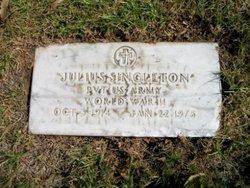 Pvt Julius Singleton