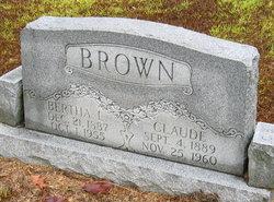 Bertha L <i>Millican</i> Brown