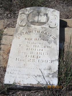 Mary Elizabeth <i>Hardy</i> Baskin