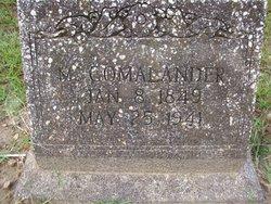 Sarah Ann Melvina Comalander
