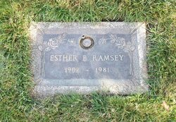 Esther B <i>Bennett/Fitch</i> Ramsey