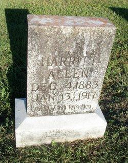 Harritt <i>Crabtree</i> Allen