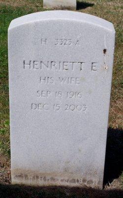 Henriette Emma <i>Hillefeld</i> Cleghorn