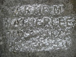 Artie M. Martie <i>Goodman</i> Matherlee