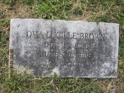 Oma Lucille Brown