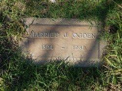 Harriet J Ogden