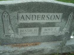 Boyd E Anderson