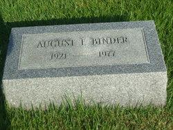 August F. Binder