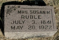 Susan Marie <i>Foster</i> Ruble