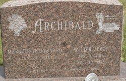 Walter Leroy Archibald