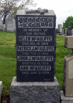 Patrick Joseph McAuliffe