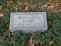 Wilhelmina P <i>Thayer</i> Eaton