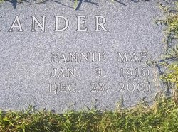 Fannie Mae Alexander