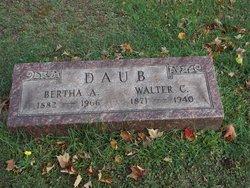 Bertha A <i>Manville</i> Daub