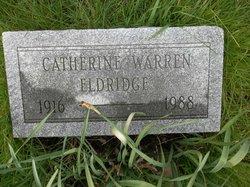 Catherine <i>Warren</i> Eldridge