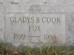 Gladys Beatrice <i>Cook</i> Fox