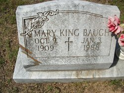Mary <i>King</i> Baugh