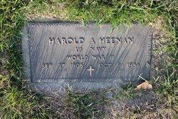 Harold A Heenan