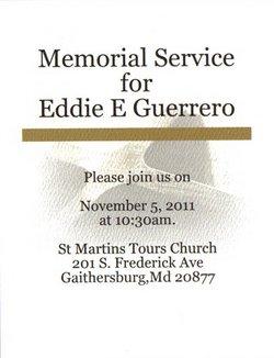 Eddie Euclides Guerrero