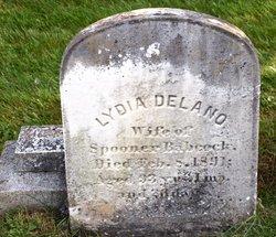 Lydia <i>Delano</i> Babcock