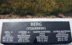 Anna O. Berg