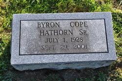 Byron Cope Hathorn, Sr