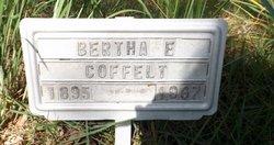 Bertha E. <i>Cleek</i> Coffelt