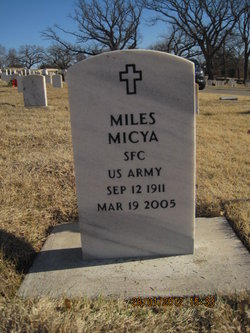Sgt Miles Micya