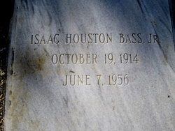 Isaac Houston Bass, Jr