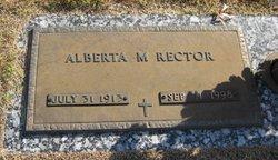 Alberta Marie <i>Bennett</i> Rector