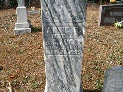 Annie Bertha <i>Holloway</i> Auger