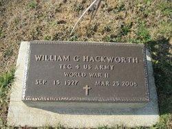 William  Bill Hackworth