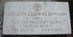 Adolph Ludwig Benson