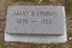 Mary <i>Benson</i> Church