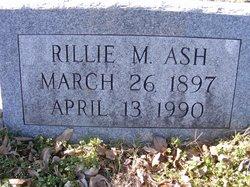 Rillie M. <i>Fowler</i> Mitchum