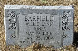 Willie Lynn <i>Jones</i> Barfield
