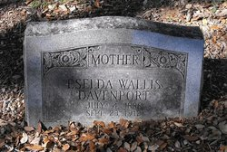 Eselda <i>Wallis</i> Davenport