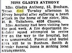 Gladys R. Anthony