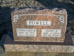 Lydia Ladean <i>Fortney</i> Powell