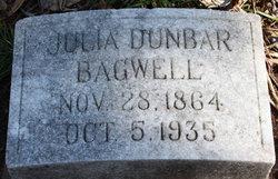 Julia R. <i>Dunbar</i> Bagwell