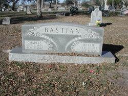 Bertha Ernestina Bettie <i>Schmook</i> Bastian