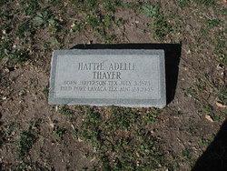 Hattie Adelle Thayer