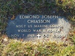 Edmond J Joe Chiasson