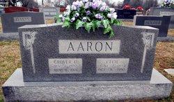 Nannie Cecil <i>Oakes</i> Aaron