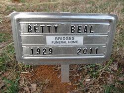 Betty Ruth <i>Headrick</i> Beal