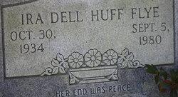 Ira Dell <i>Huff</i> Flye