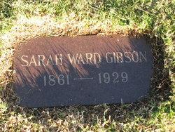 Sarah <i>Ward</i> Gibson