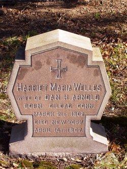 Harriet Maria <i>Welles</i> Arnold
