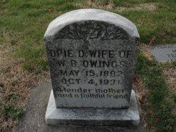 Opie Delilah <i>Eller</i> Owings