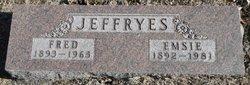 Emma Edna Emsie <i>O'Neill</i> Jeffryes